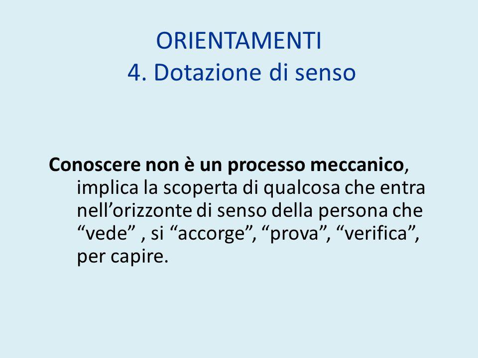 ORIENTAMENTI 4.