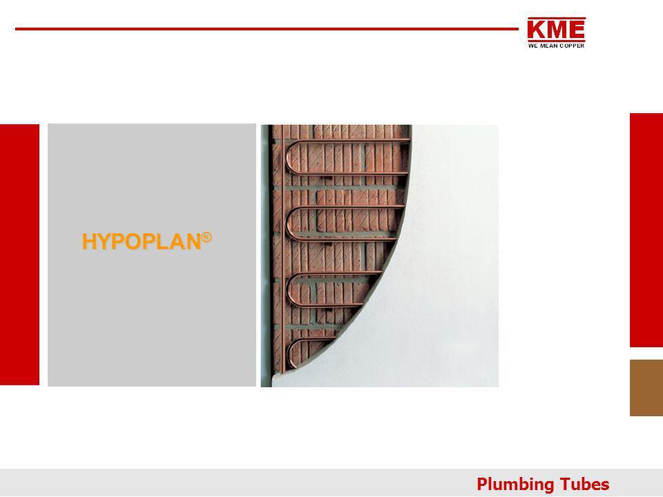 HYPOPLAN ® Plumbing Tubes