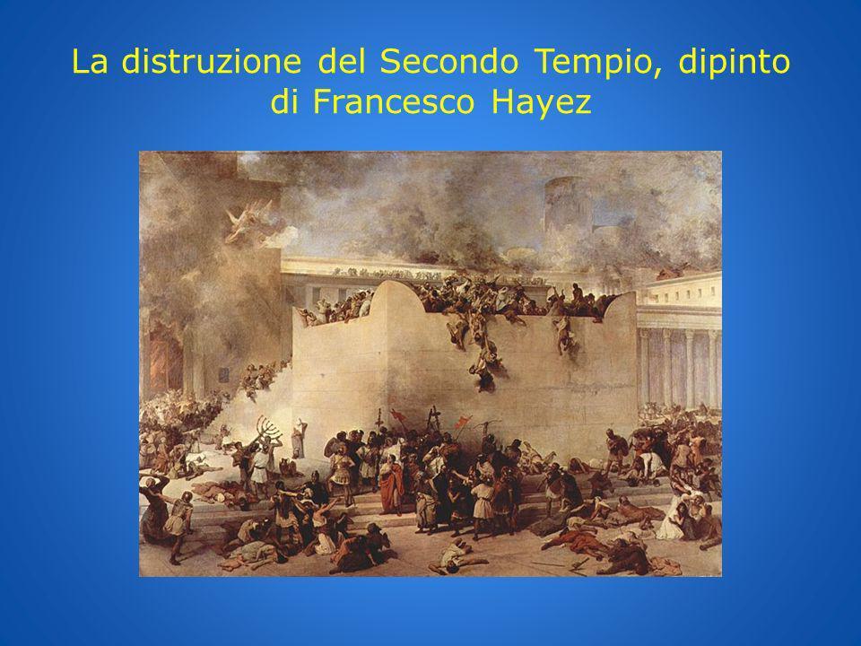 La distruzione del Secondo Tempio, dipinto di Francesco Hayez