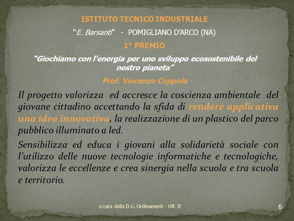 SEZIONE SCUOLA SECONDARIA DI PRIMO GRADO