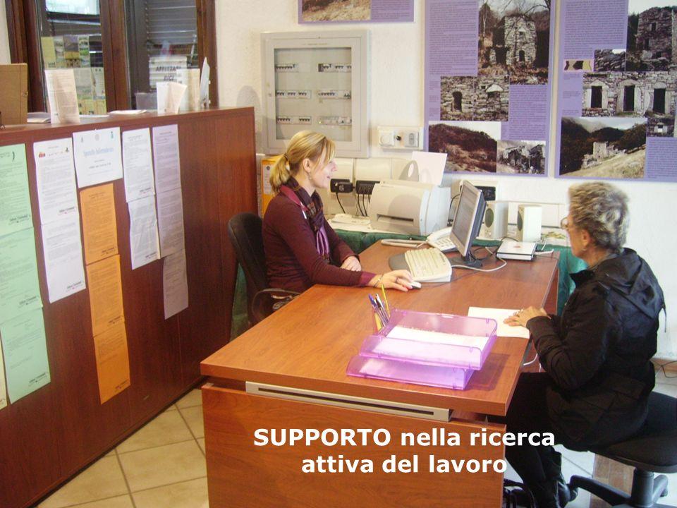 SUPPORTO nella ricerca attiva del lavoro