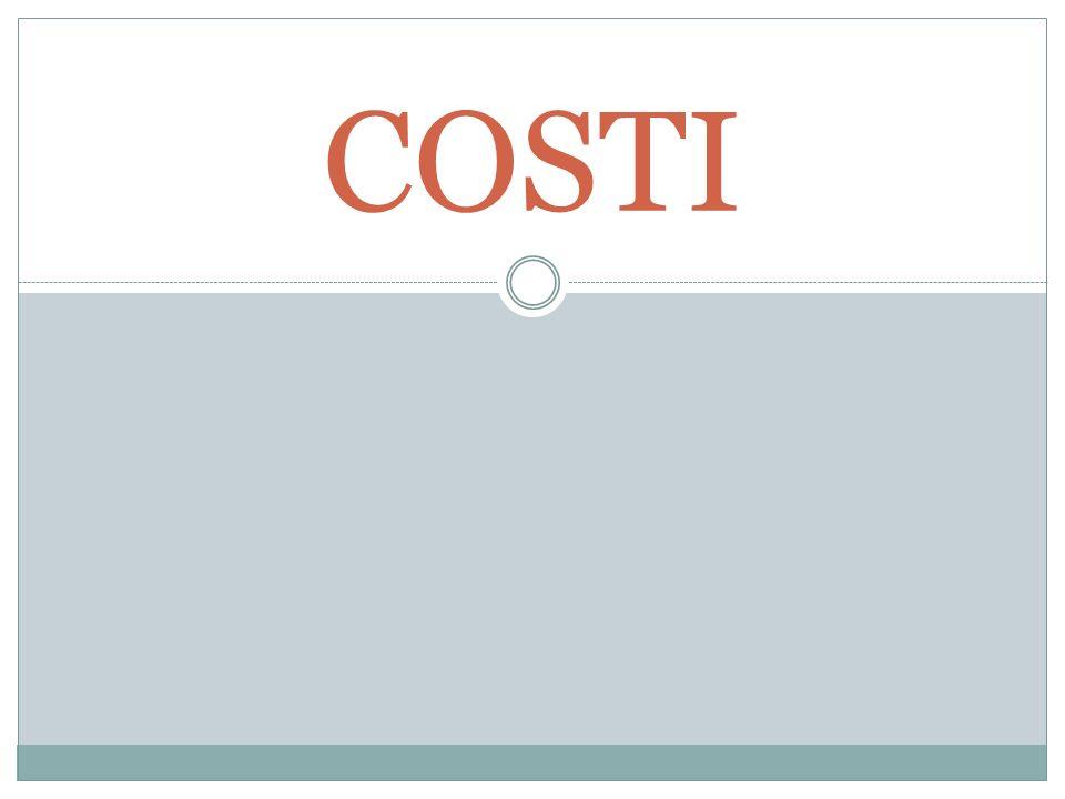 MA QUESTA DOMANDA PUÒ ASSUMERE 2 SIGNIFICATI: Possiamo essere interessati a sapere quale costo stiamo pagando in rapporto agli input usati