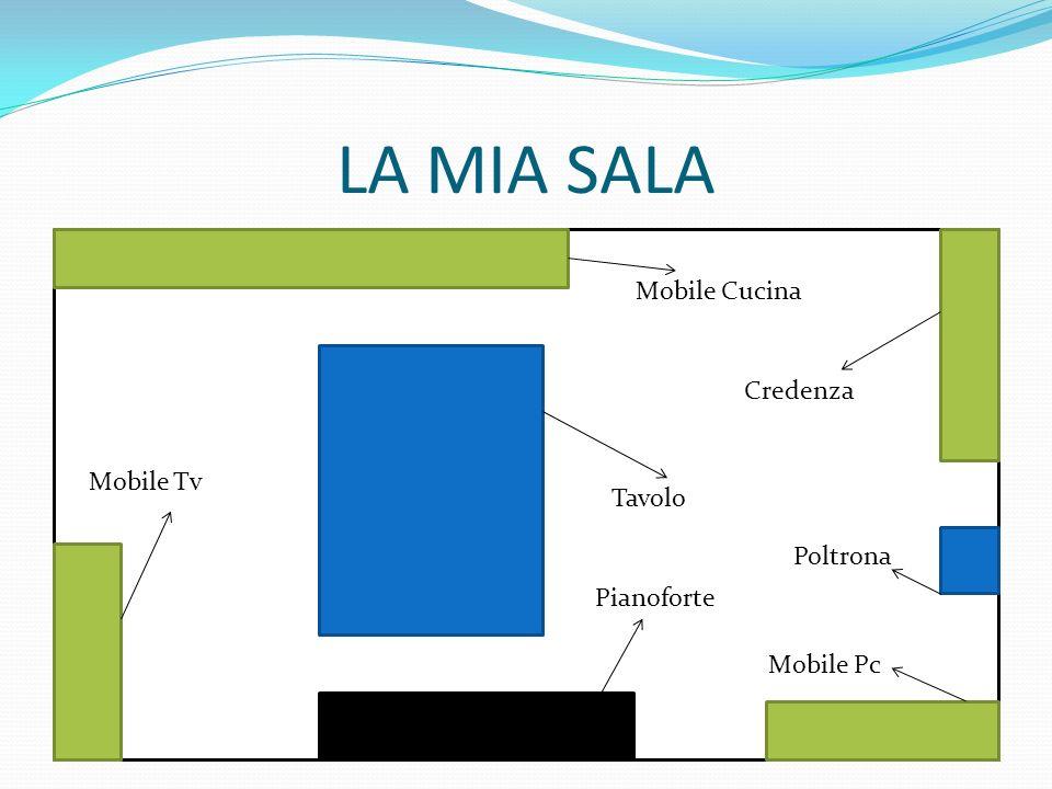 LA MIA SALA Mobile Cucina Credenza Tavolo Poltrona Mobile Pc Pianoforte Mobile Tv