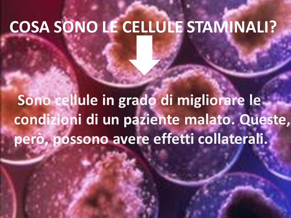 Quali sono questi effetti collaterali.Perché lo stato italiano non approva questo tipo di cellule.