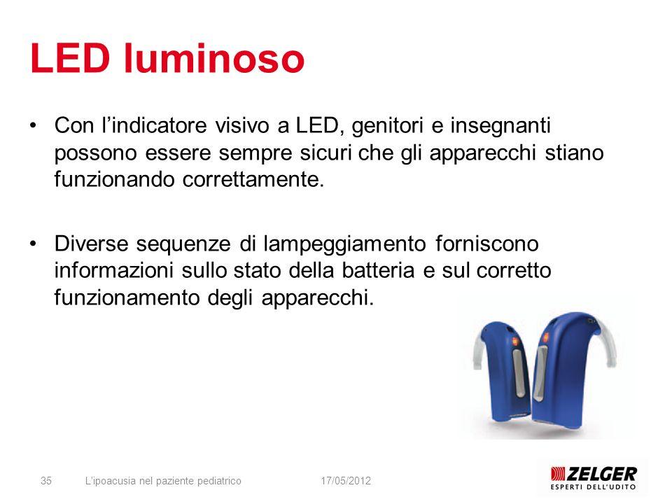 LED luminoso Con lindicatore visivo a LED, genitori e insegnanti possono essere sempre sicuri che gli apparecchi stiano funzionando correttamente. Div