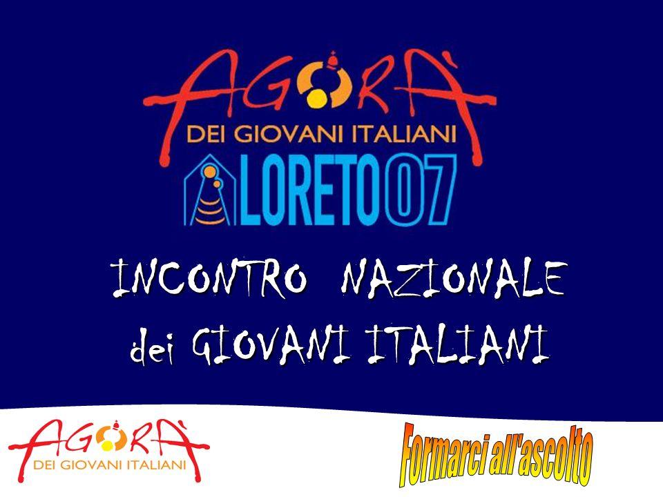 PROGRAMMA DI MASSIMA 29-31 agosto 2007 I giorni dellaccoglienza nelle Chiese locali 1 settembre 2007 Il pellegrinaggio verso Loreto 1-2 settembre 2007 La celebrazione dellevento