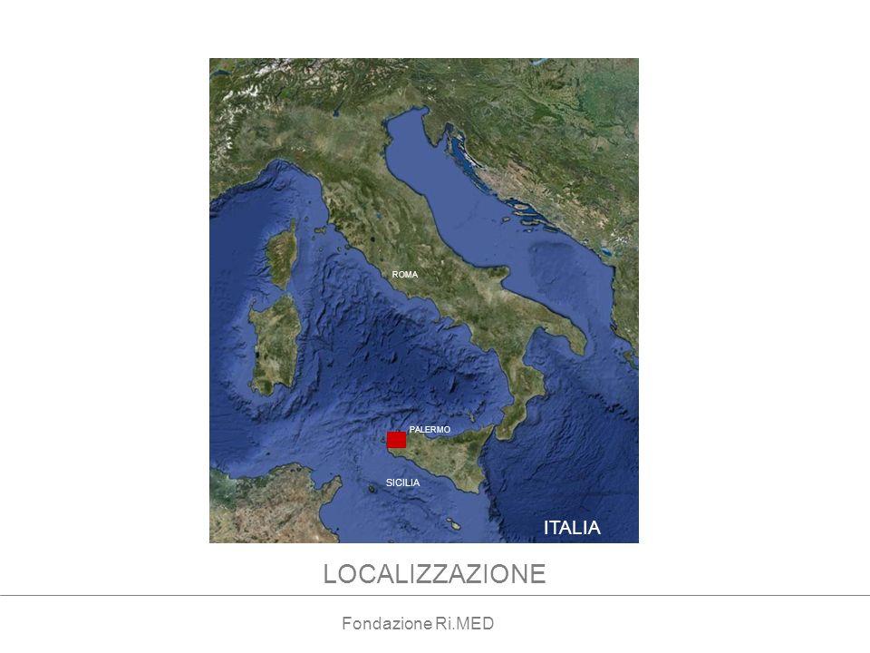 ITALIA ROMA SICILIA LOCALIZZAZIONE PALERMO Fondazione Ri.MED