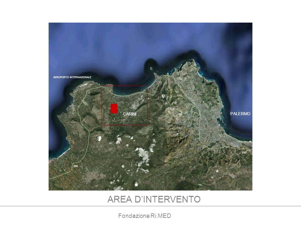 PALERMO AEROPORTO INTERNAZIONALE CARINI E90 AREA DINTERVENTO Fondazione Ri.MED