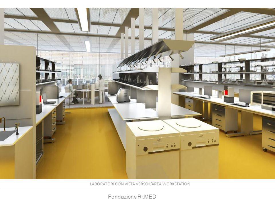 RESEARCH LABORATORY LABORATORI CON VISTA VERSO LAREA WORKSTATION Fondazione Ri.MED