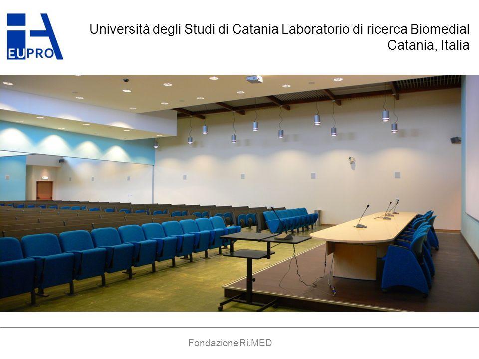 LIVELLO 1 AUDITORIUM AMMINISTRAZIONE DIPARTIMENTO FACOLTA MEDICINA CENTRO CONFERENZE CLINICA LABORATORI EST LABORATORI OVEST PIAZZA INCUBATORI BIOLOGIA MOLECOLARE LABORATORI CNR Fondazione Ri.MED