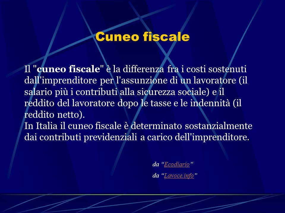Cuneo fiscale Il