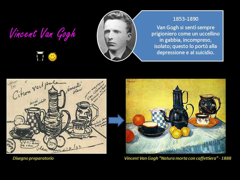 Vincent Van Gogh Disegno preparatorioVincent Van Gogh