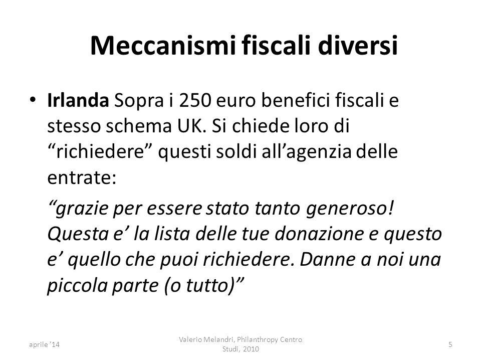 Meccanismi fiscali diversi Irlanda Sopra i 250 euro benefici fiscali e stesso schema UK.