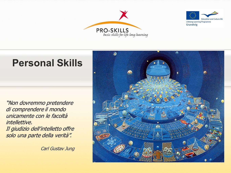 Personal Skills Non dovremmo pretendere di comprendere il mondo unicamente con le facoltà intellettive. Il giudizio dellintelletto offre solo una part