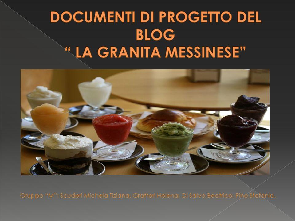 Gruppo M: Scuderi Michela Tiziana, Gratteri Helena, Di Salvo Beatrice, Pino Stefania.