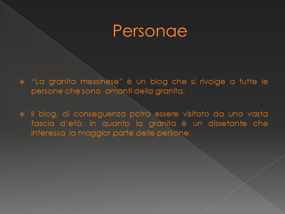La granita messinese è un blog che si rivolge a tutte le persone che sono amanti della granita.
