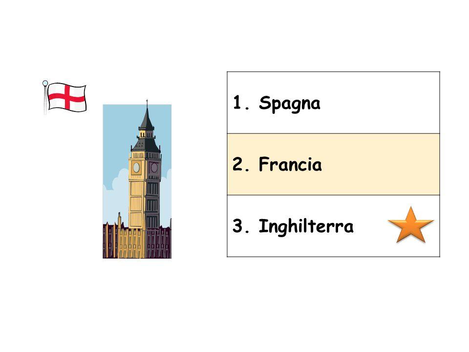 1. Spagna 2. Francia 3. Inghilterra