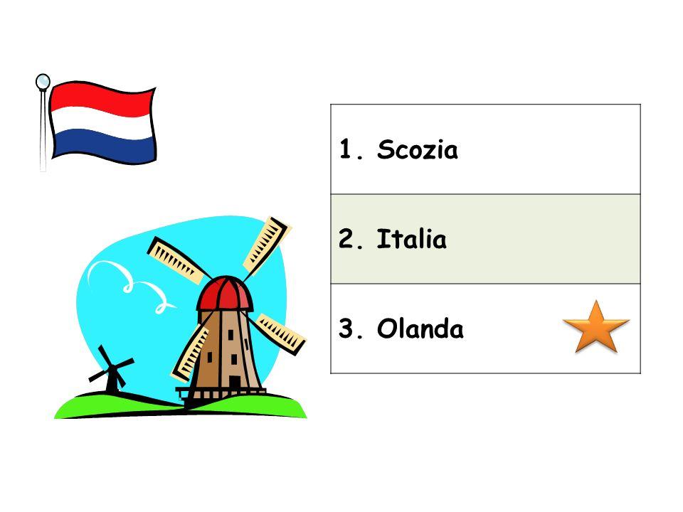 1. Scozia 2. Italia 3. Olanda