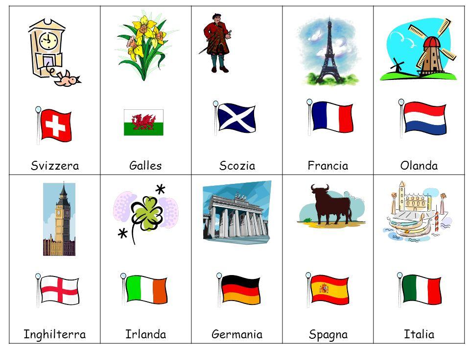1. Inghilterra 2. Francia 3. Italia