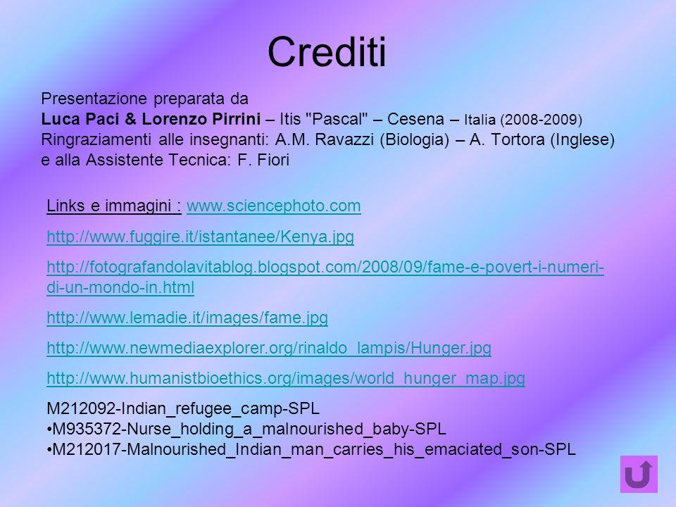 Crediti Presentazione preparata da Luca Paci & Lorenzo Pirrini – Itis