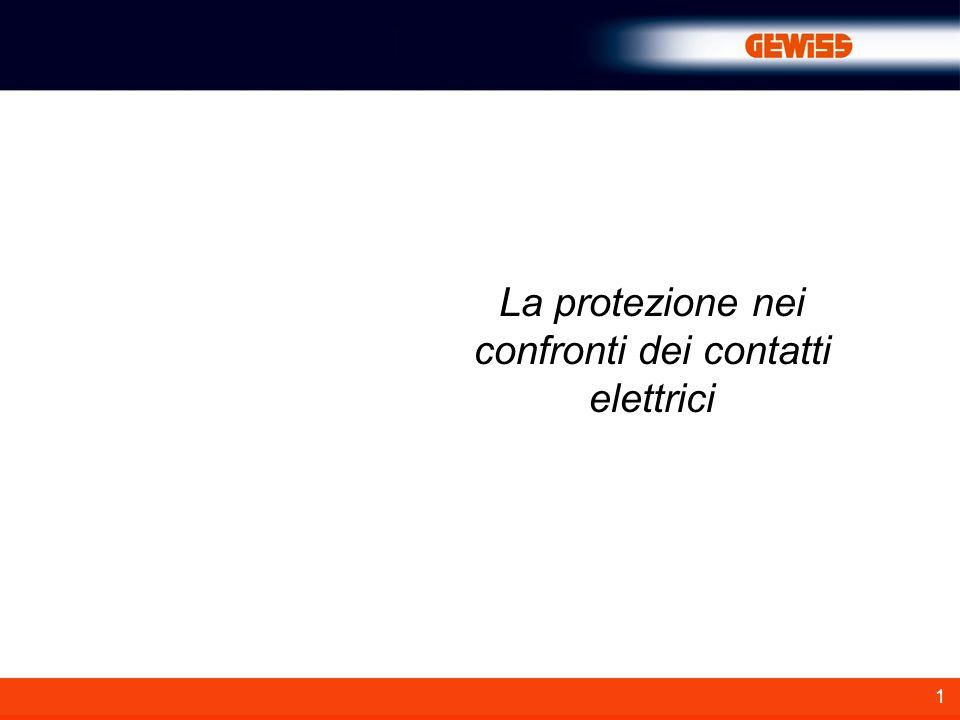 1 La protezione nei confronti dei contatti elettrici