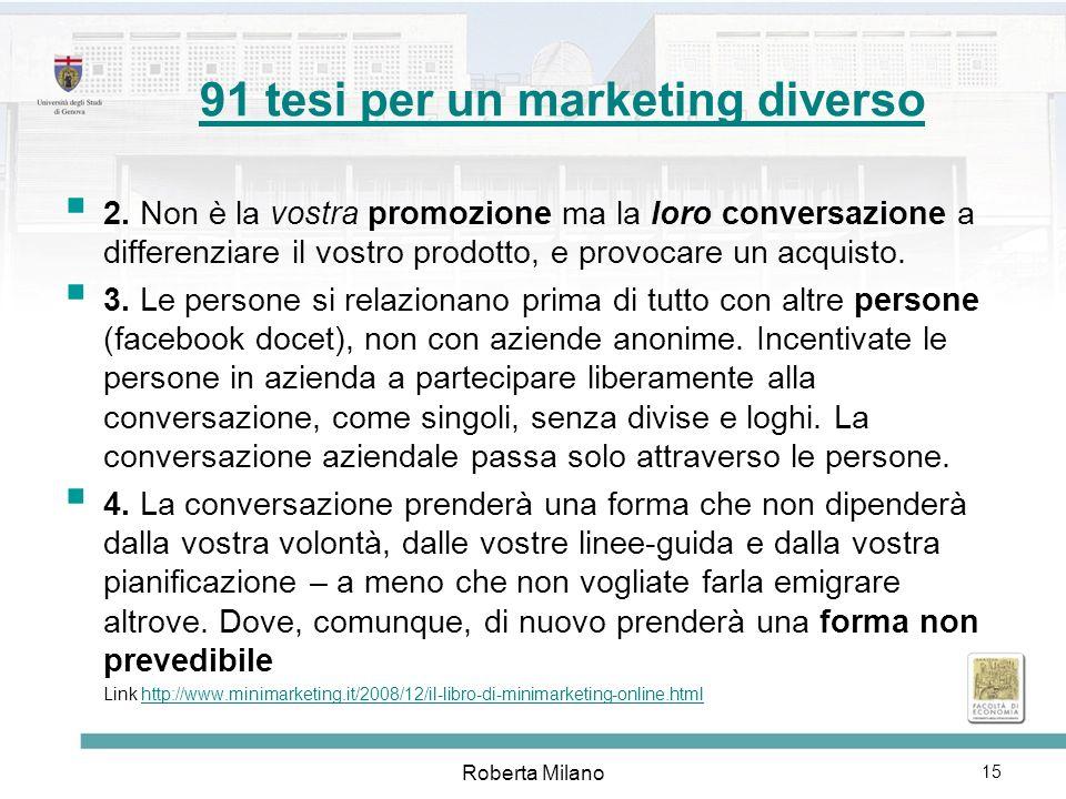 Roberta Milano 16 Internet visto dalle aziende Gianluca Diegoli [mini]marketing[mini]marketing