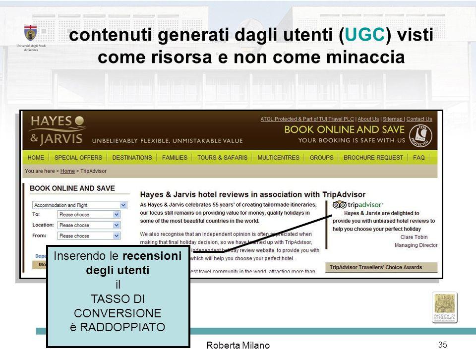 Roberta Milano 36 il potere collettivo dei piccoli siti che costituiscono la lunga coda e aprono nuovi mercati