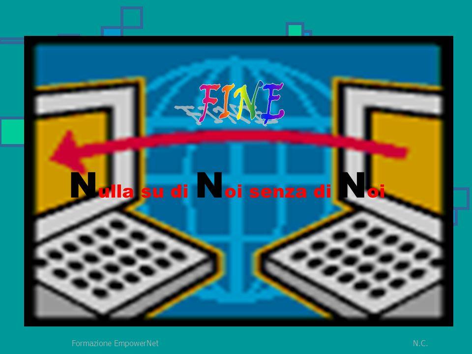 N.C.Formazione EmpowerNet N ulla su di N oi senza di N oi