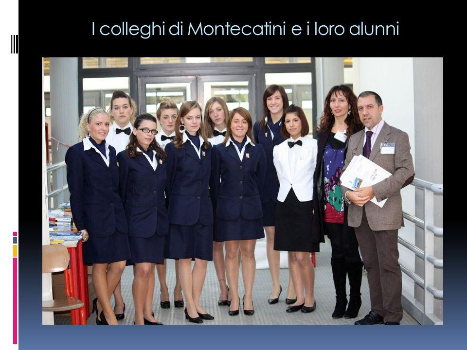 I colleghi di Montecatini e i loro alunni
