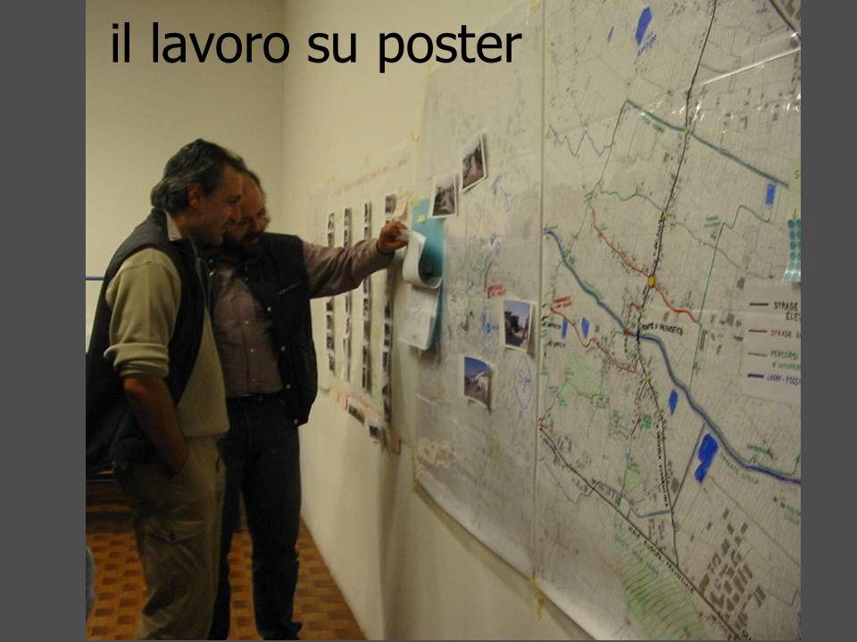 il lavoro su poster
