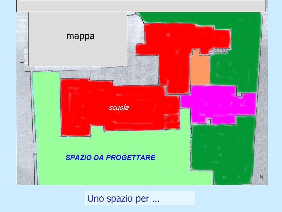 Uno spazio per … scuola mappa