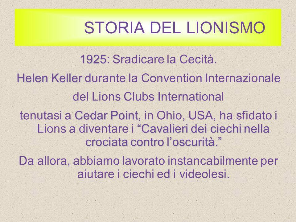 STORIA DEL LIONISMO 1945 1945: LUnione con le Nazioni.