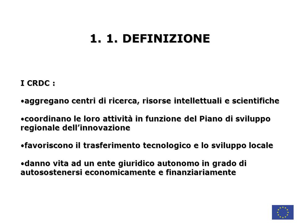 4.3.VERIFICA INTERMEDIA STAZIONE DI CONTROLLO 18° MESE Check point Progetto 1.