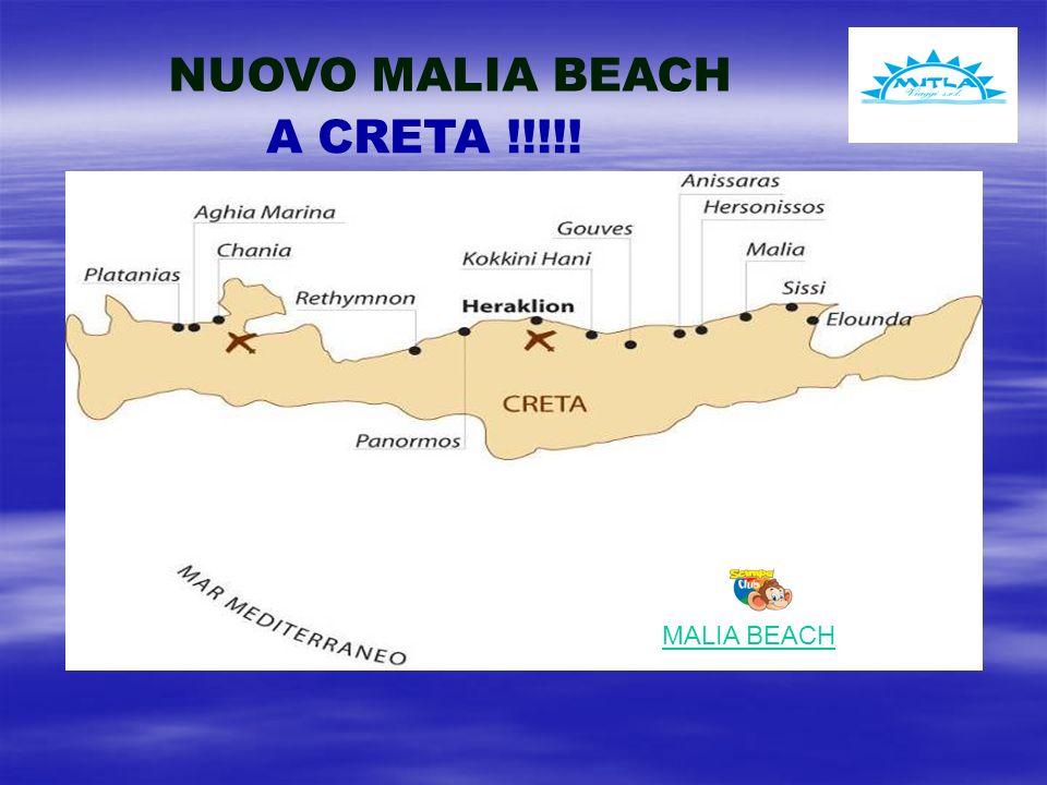 NUOVO MALIA BEACH MALIA BEACH A CRETA !!!!!