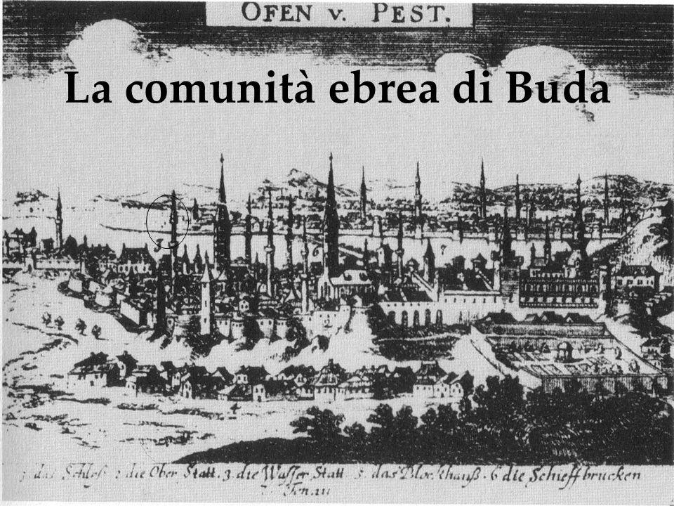 La comunità ebrea di Buda