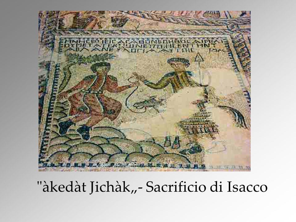 àkedàt Jichàk- Sacrificio di Isacco