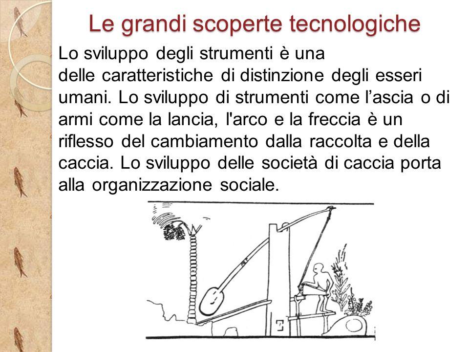 Lo sviluppo degli strumenti è una delle caratteristiche di distinzione degli esseri umani.
