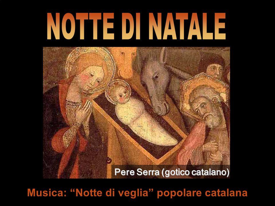 Musica: Notte di veglia popolare catalana Pere Serra (gotico catalano)