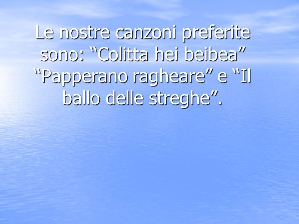 Le nostre materie preferite Le nostre materie preferite sono: musica, religione, storia e scienze ma siamo molto brave anche il italiano.