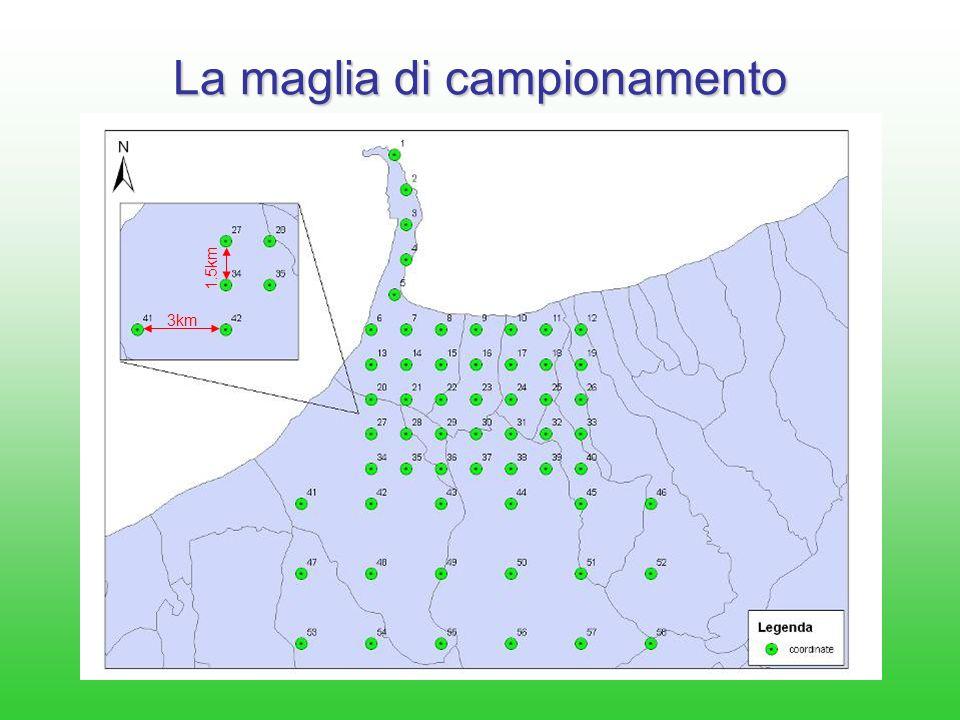 Area di interesse La rete di monitoraggio sarà pensata e progettata con lo scopo di coprire una porzione di territorio interno ad un raggio di 25 Km dal comparto industriale di Milazzo.