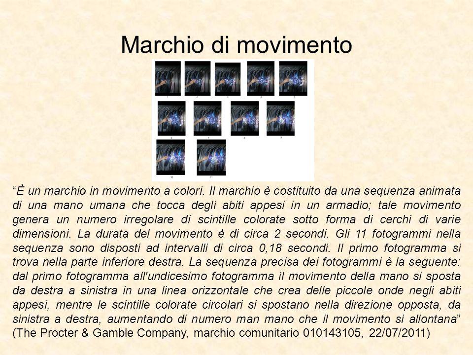 Marchio di movimento È un marchio in movimento a colori.
