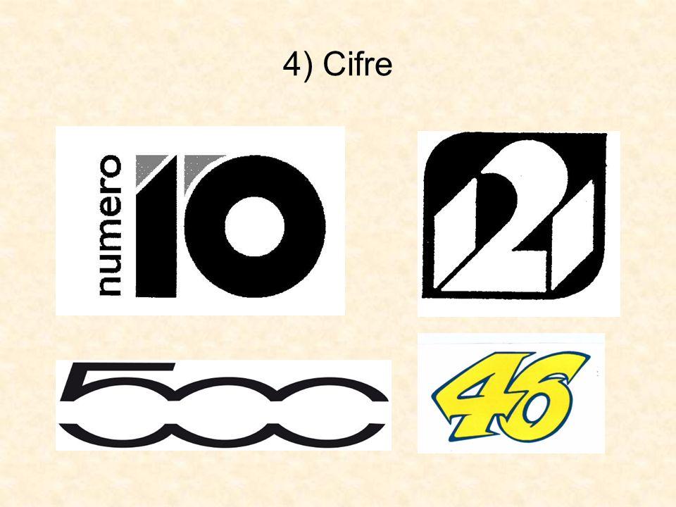 4) Cifre