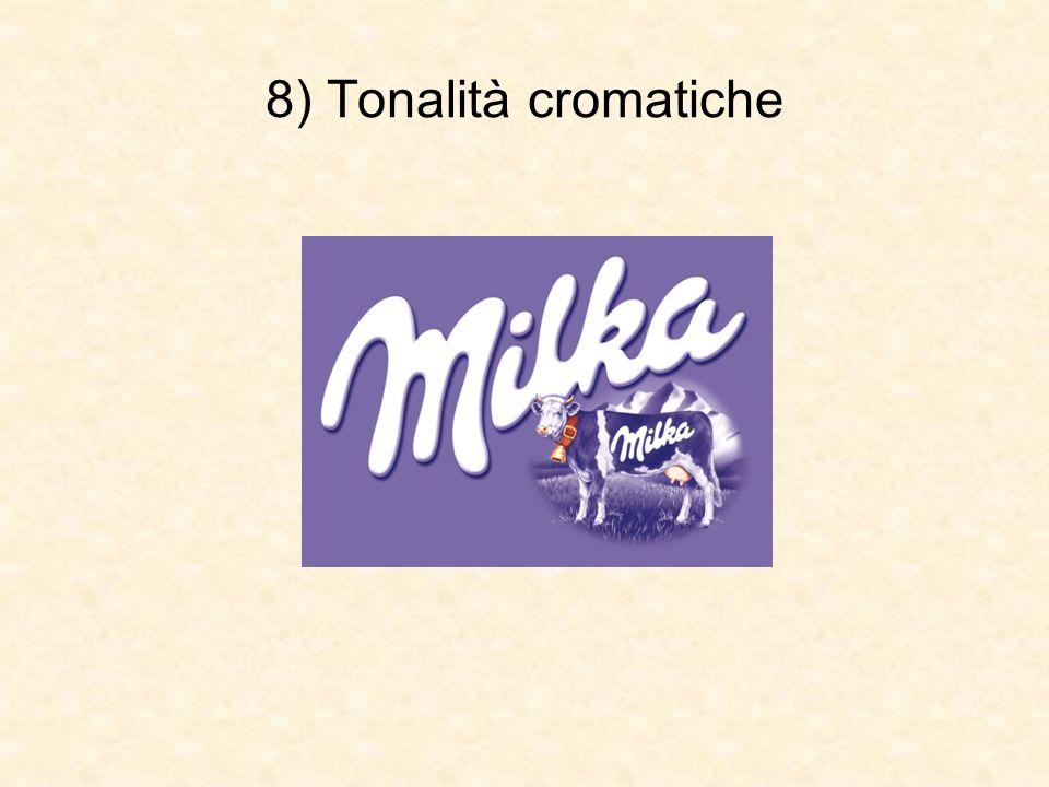 8) Tonalità cromatiche