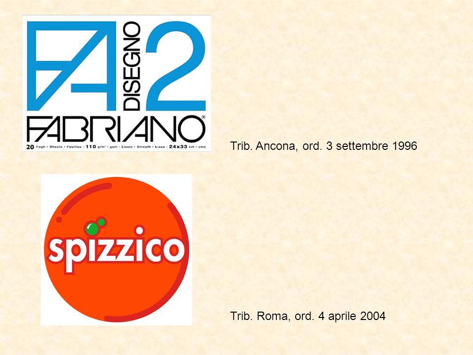 Trib. Ancona, ord. 3 settembre 1996 Trib. Roma, ord. 4 aprile 2004