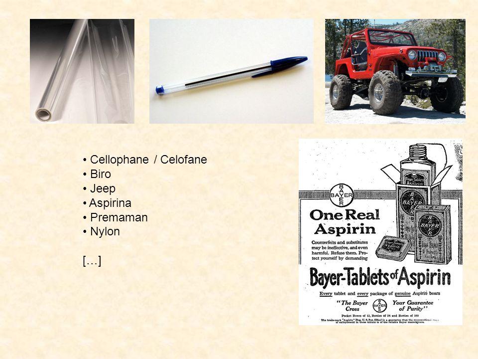 Cellophane / Celofane Biro Jeep Aspirina Premaman Nylon […]