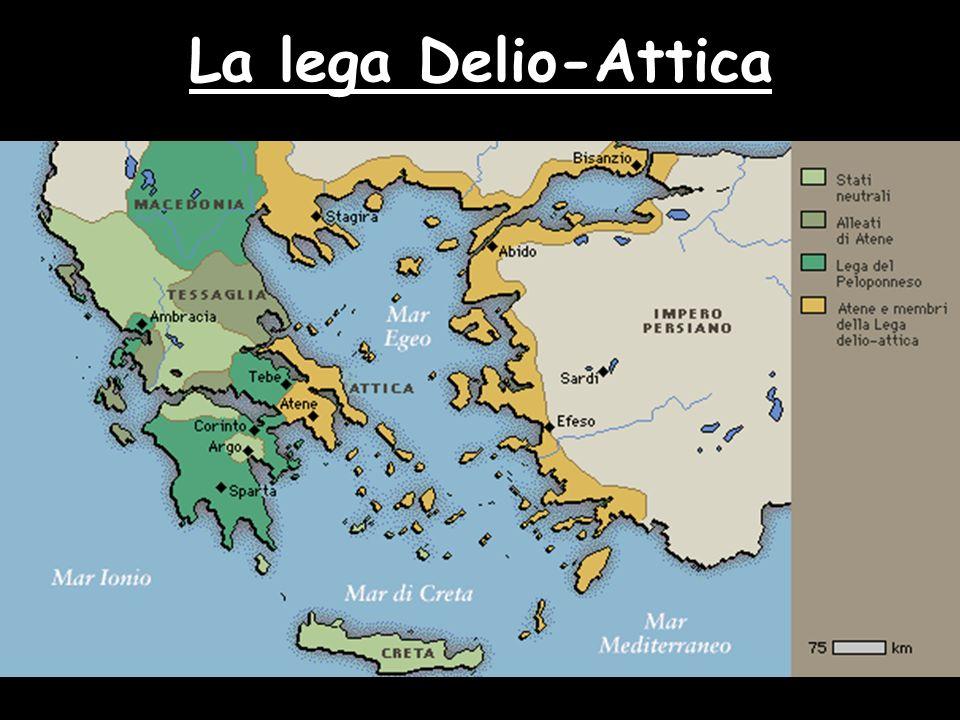 La lega Delio-Attica