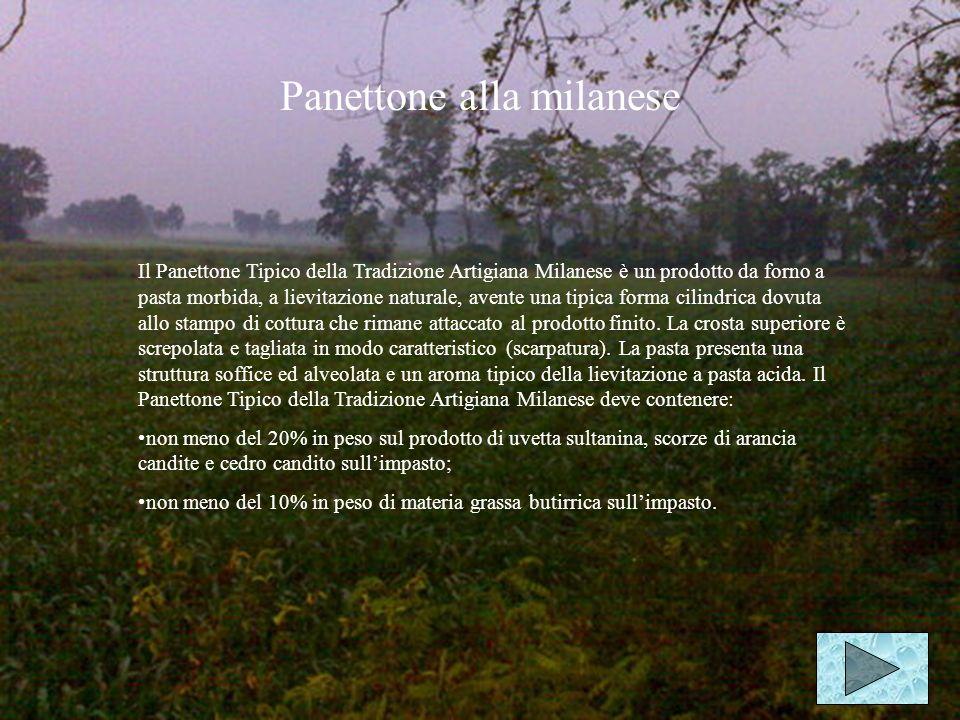 Cucina Panettone milanese Polenta Pizzocheri valtellinesi Trippa