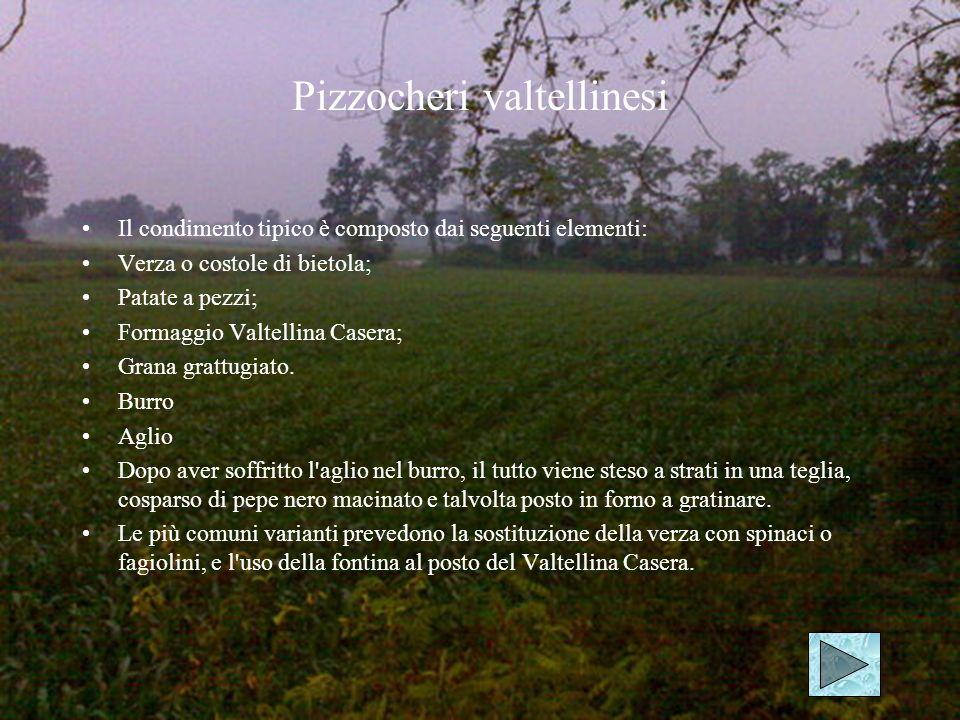 Polenta La pulenta uncia viene cucinata nelle zone del lago di Como.