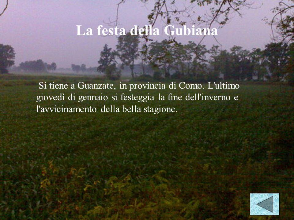 Il carnevale ambrosiano Questo lungo carnevale si celebra a Milano e dura fino al primo sabato di quaresima