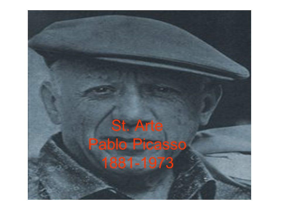 St. Arte Pablo Picasso 1881-1973